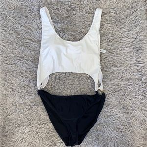 2 Toned Bathing Suit